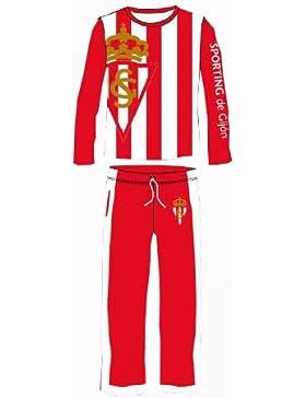Pijama Sporting de Gijón (talla XL)