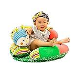 Siège Support Coussin de bébé Apprendre à s'asseoir Doux Peluche Protection Assis Chaise,Lovely enfants bébé support de siège souple Oreiller Canapé