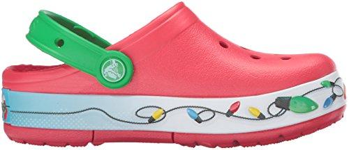 Crocs Crocslights Holiday Clog, Sabots Mixte Enfant Multicolore (Multi)