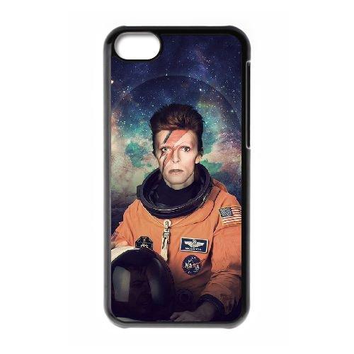 David Bowie coque iPhone 5C Housse téléphone Noir de couverture de cas coque EBDXJKNBO13575