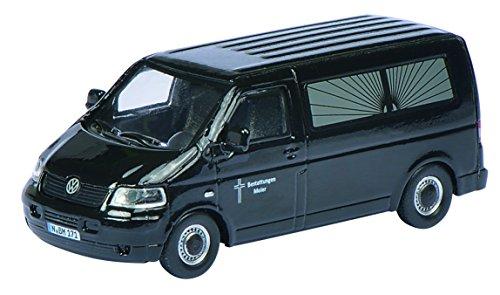 Preisvergleich Produktbild Schuco 452614600 - Volkswagen T5 Bestattungen Meier, 1:87
