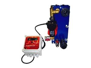 Echangeur de chaleur à plaques VESUVIO 105kW équipé Aqualux ECHPE105T