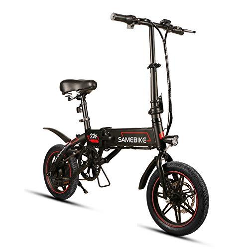 SHIJING Lega di Alluminio Pieghevole Bicicletta elettrica 36V7.5AH 250W e-Bike Batteria al Litio da 14' Bici elettrica 78 x 38 x 55 cm