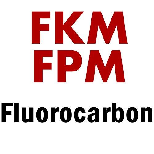 NO LOGO KF-SIEGEL 3.63X1.4 Oring 3.63mm ID X 1,4 mm CS FKM FPM Fluor O-Ring O-Ring-Dichtung Gummi (Farbe : FKM FPM)