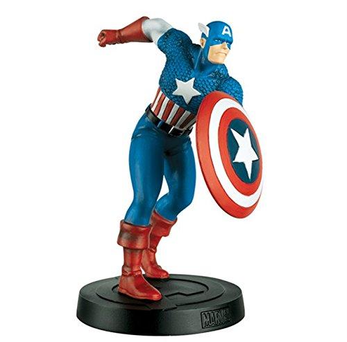 Marvel Collection Figura de resina Classic Avengers 1960 Nº 2 Capitán América