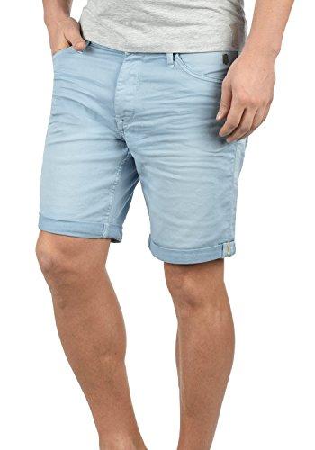 Blend Diego Herren Jeans Shorts Kurze Denim Hose Aus Stretch-Material Slim Fit, Größe:3XL, Farbe:Soft Blue (74641)