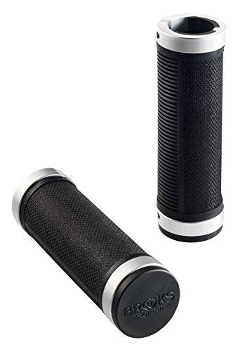 brooks-cambium-rubber-grips-corto-largo-manillar-unisex-cambium-rubber-grips-kurz-lang-negro-negro-k