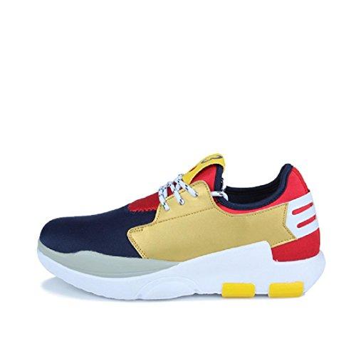 Herren Sportschuhe Rutschfest Ausbildung Wandern Schuhe erhöhen navy blue