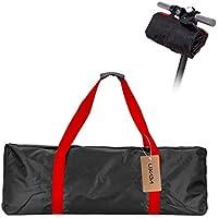 Lixada Portable Oxford Paño Scooter Bolsa Eléctrica Skateboard Bolsa de Transporte para Xiaomi Mijia M365 110 * 45 * 50 cm (Rojo)