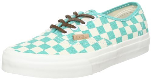 Vans Authentic CA Checker Waterfall White Grün