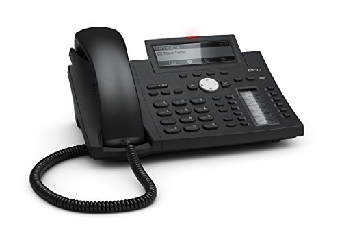 Snom D345 Euro 300 Desk Telephone Black