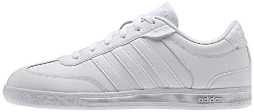 adidas adidasCROSS Court - Scarpe Fitness Uomo Bianco (Blanco (Ftwbla / Ftwbla / Ftwbla))