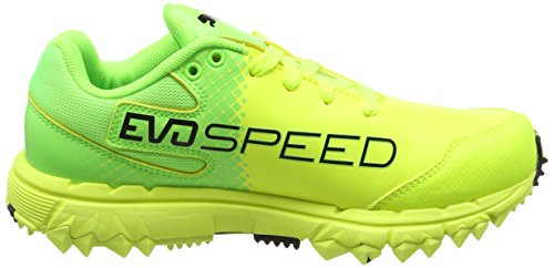 Puma Evospeed 4.5 Fh, Scarpe da Calcio Uomo Giallo (Safety Yellow-puma Black-green Gecko 04)