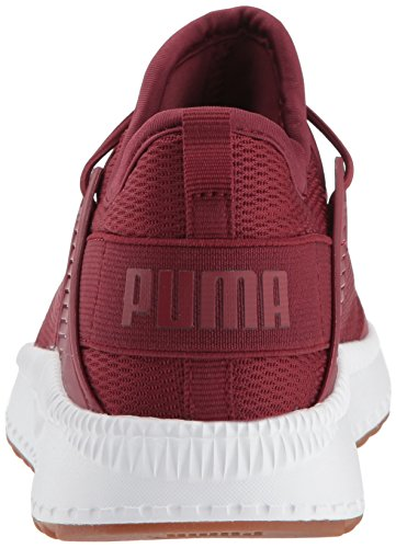 PUMA Unisex-Kids Pacer Next Cage AC Sneaker  Pomegranate-Pomegranate  1 M US Little Kid