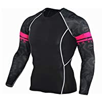Men's Sports Clothes Quick-drying Basketball Running Elastic Training Fitness Clothes T-shirt Sportswear