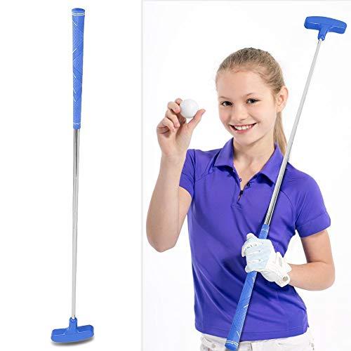 Alomejor Golf-Putter, 73,7 cm, Rutschfester Gummi-Putter für Kinder, Golf-Putter mit Stahlschaft, blau