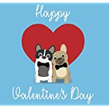gay french bulldog couple gay valentines card same sex valentines card gay valentines