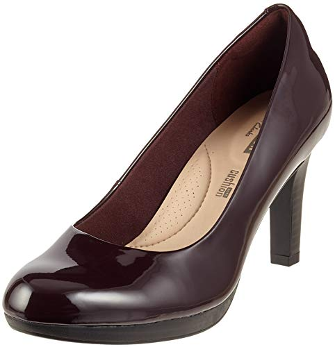 Clarks Adriel Viola, Zapatos Tacón Mujer