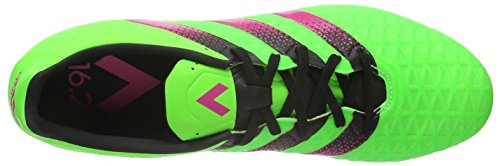 adidas Herren Ace 16.2 Sg Fußballschuhe Grün (Solar Green/Shock Pink/Core Black)
