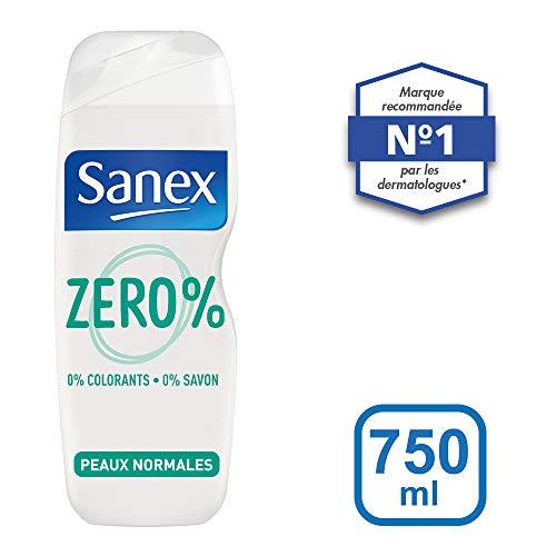 Sanex Gel de Ducha 0% Grasas 750 ml - juego de 3