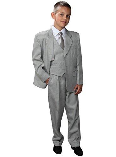 Costume 3 pièces garçon Gris