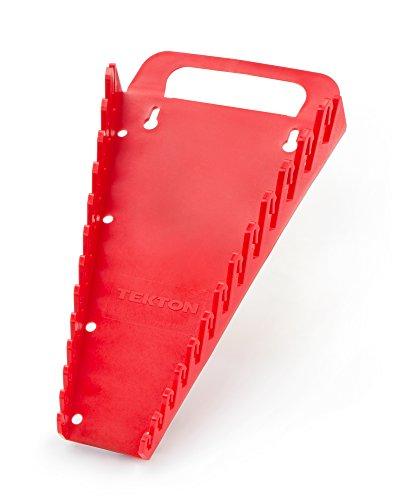 TEKTON 79369 Tragbare Aufbewahrungsleiste für 13 Schraubenschlüssel / Schraubenschlüssel-Halter, rot (Schraubenschlüssel Halter)