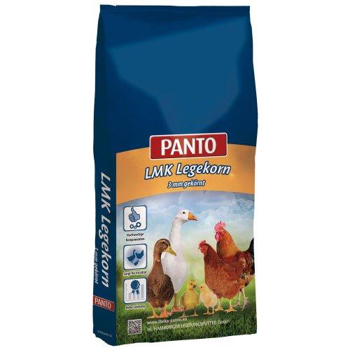 PANTO LMK Legekorn 3mm (Legemehl gekörnt für eine optimale Versorgung Ihres Geflügels), 1er Pack (1 x 25000 g) - Optimale Vitamin-packs