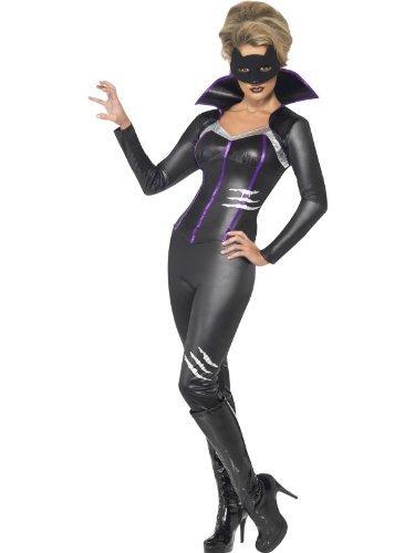 Foxy Katze Super- Hero Kostüm für Damen, Größe M-40/42 (Foxy Kostüm)