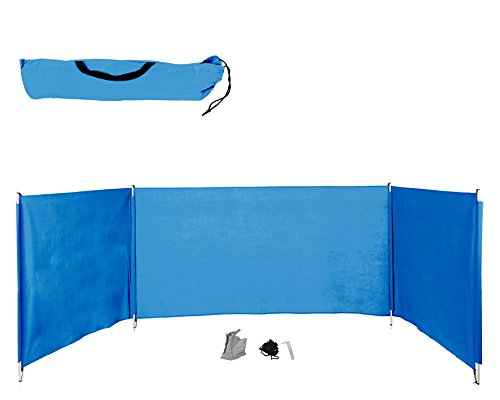 ATOSA 25378 - Strand Windschutz 400 x 110 cm, blau