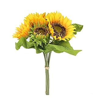 Famibay Flores Artificiales de Girasol