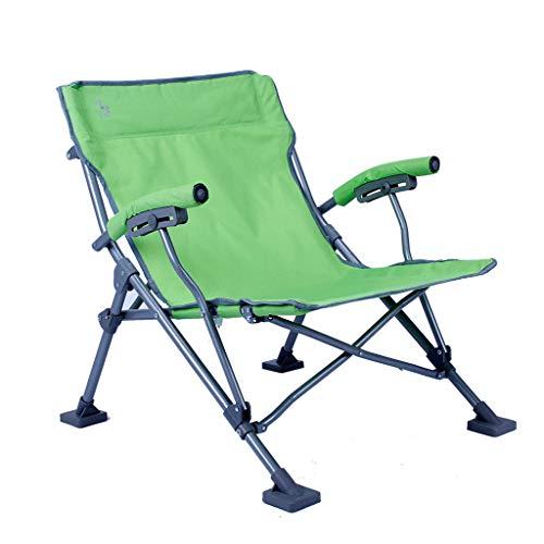 Chaises de pêche Chaise Pliante Chaise Multifonction D'extérieur Chaise De Plage Chaise De Metteur en Scène Peut Supporter 150 Kg Cadeau (Color : Green, Size : 69 * 55 * 62.5cm)