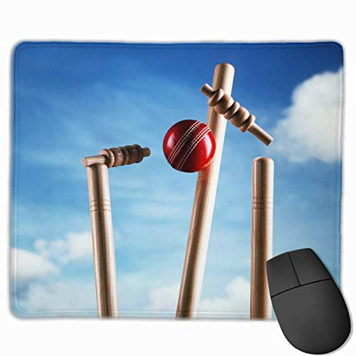 Deglogse Gaming-Mauspad-Matte, Smooth Mouse Pad Red Cricket Mobile Gaming Mousepad Work Mouse Pad Office Pad Red Cricket