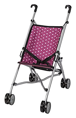 Bayer Design 30153AA - Puppen-Buggy, rosa