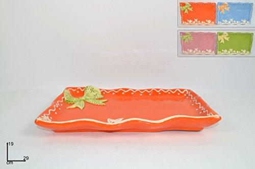 Piatto fiocco merletto ceramica centrotavola decorazioni pasqua pasquale