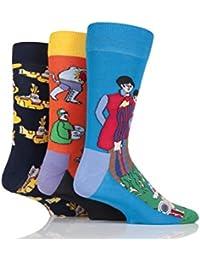 Happy Socks The Beatles Yellow Submarine EP collecteurs chaussettes en coton en boîte-cadeau - Hommes et Femmes