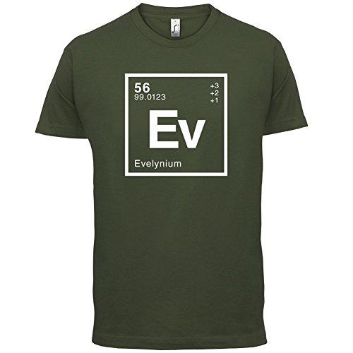 Evelyn Periodensystem - Herren T-Shirt - 13 Farben Olivgrün