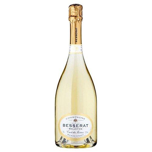 Champagne Besserat de Bellefon, Cuvee des Moines Blanc de Blancs NV 75cl - (Packung mit 6)