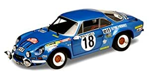 Alpine-Renault - 9065/150717  - Solido - Alpine-Renault A 110 1800 - Monte Carlo 73 - 1/18