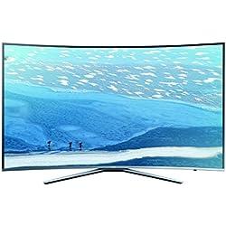 """Samsung UE65KU6509U 65"""" 4K Ultra HD Smart TV Wifi Plata - Televisor (4K Ultra HD, A+, Mega Contrast, Plata, 3840 x 2160 Pixeles, Curva)"""