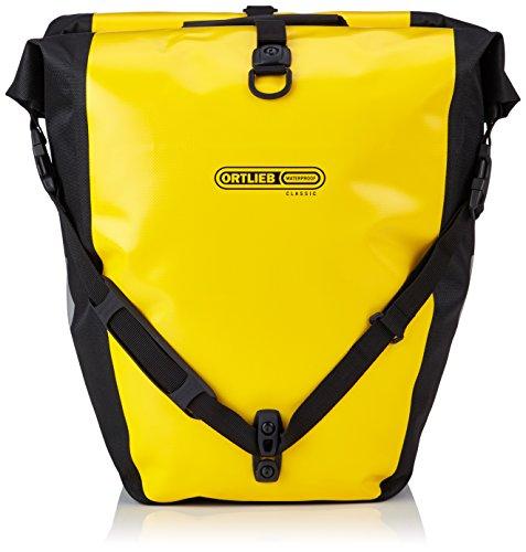e03b686cd2 Ortlieb Back-Roller Classic Bike Bags - Yellow-Black, 42 x 23/