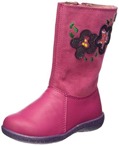 Agatha Ruiz De La Prada161922 - Stivali a metà polpaccio non imbottiti Bambina , Rosa (Pink (Fucsia)), 30