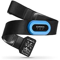 Garmin HRM-Tri Fascia Cardio per Nuoto, Corsa e Ciclismo, Rilevamento Frequenza Cardiaca,