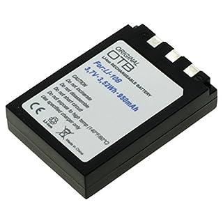 OTB Akku für Olympus LI-10B / LI12B Li-Ion Schwarz