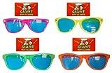 Pams - Occhiali da sole giganti, in plastica, colori: Vari