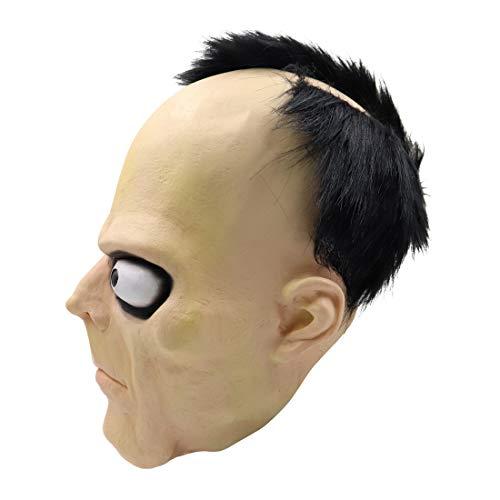 Kostüm Böse Cheerleader - Tensay Phantasie Scary Head Maske Cosplay Helm Halloween Kostüm Neuheit Lustige Spielzeug Home Bar Party Dekoration