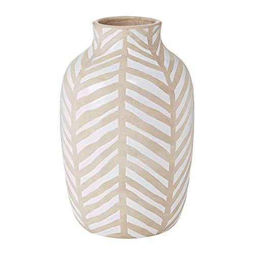 shovv Dekoartikel Ornamente Dekorative Verzierungen des Amerikanischen Vasen des Keramischen Vase des Blattmusters Moderne Dekorative Verzierung Blühen Special