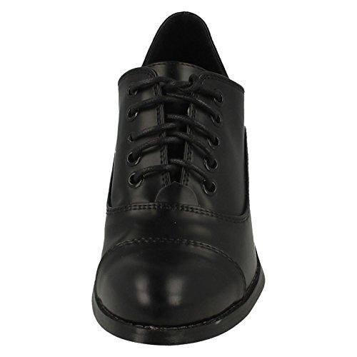 Spot Shine Black Bloqué High Talon sur Chaussures Mesdames OnR0dqAO