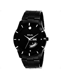 Mikado Decent Black Day And Date Analog Watch For Men's Watch - For Men