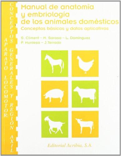 Descargar Libro Manual de anatomía y embriología de los animales domésticos: aparato locomotor de S. Climent Peris
