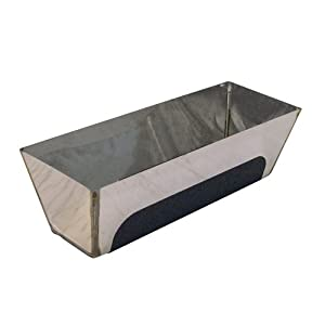 41nYo0UmiRL. SS300  - Bon 15-448 - Gaveta para hormigón (acero inoxidable, base contorneada, agarre antideslizamiento, 35,6 cm)